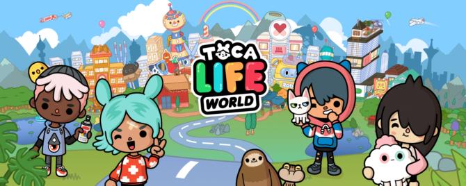 Toca Boca игра Toca Life: World